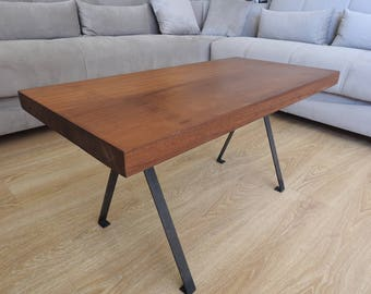 Natural Mahogany 93x46x49x5 Cm coffee table