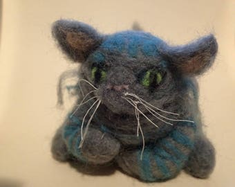 Alice in Wonderland Series-Needle Felted-Cheshire Cat