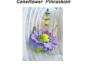 Coneflower Finger Pincushion Kit