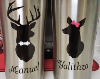 Buck & Doe His and Hers Tumbler Set