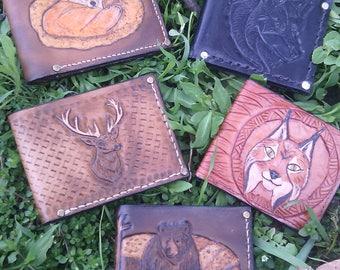 Men's wallet, men's leather wallet, purse, Leather Wallet , women's wallet