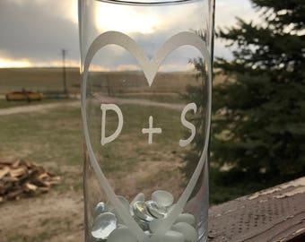 Custom Wedding Centerpiece