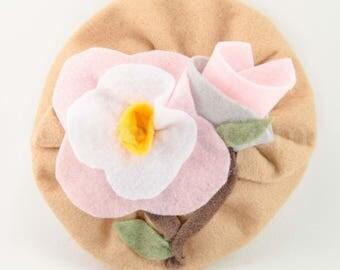 Wild Orchid Mini Hat