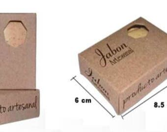 Best price boxes packaging Kraft SOAP handmade soap packaging box packaging soap bars soap bars