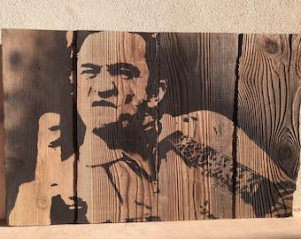 Johnny Cash wall art