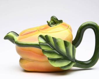 Veggie Teapot - Yellow Bell Pepper (20801)