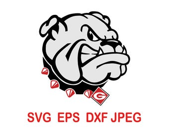 Georgia Bulldogs.svg,eps,dxf,png.