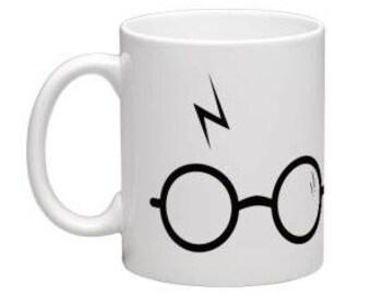 Custom Harry Potter Scar Mug / Personalised Mug