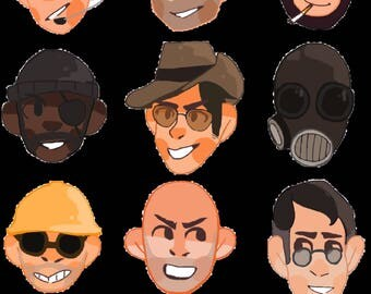 Team Fortress 2 stickers