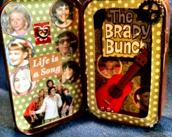 The Brady Bunch Altered Altoid Tin