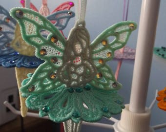 Embroidered Lace Fairy Mint