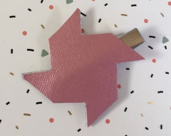 Strip pink windmill