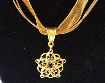 Celtic Dream Flower Pendant