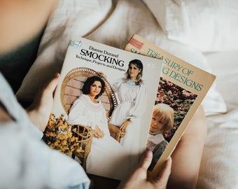 Vintage Smocking Books