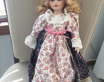 5 Vintage Porcelain Dolls