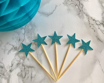 Star Cup Cake Topper