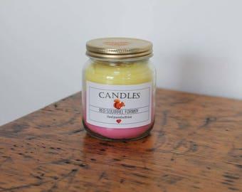 Rhubarb & Custard Candle