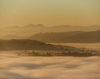 Cadair Idris Rises Above The Ocean Of Clouds (Small)