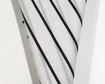 Pocket Square Black pinstripes on black and black stitched pipe borders handmade by  squaretrapny.com