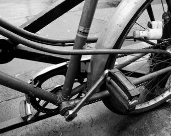 Bicycle in Gray