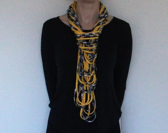 t-shirt yarn necklace/scarf