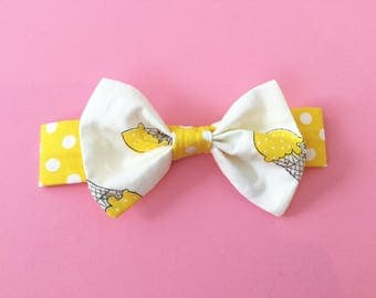 ICE CREAM DREAM Floral Headband for babies and girls