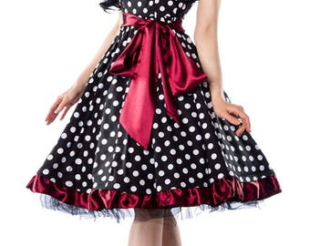 50s pin up vintage rockabilly dress women's dress