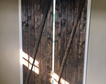 Rustic Window Shutters