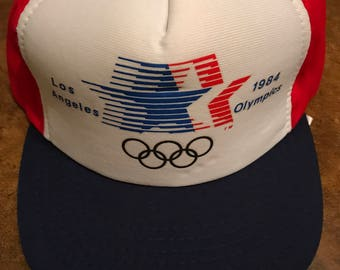 Vintage 1984 Olympic Games Hat