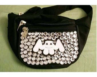 marshmello bedazzled fanny pack