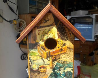 Fishing Tackle Birdhouse