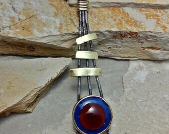 Large Carnelian pendant
