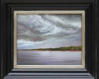 ORIGINAL OIL PAINTING 8x10 Florida Landscape Art by Eve Wheeler
