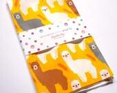 2 YARDS - The Alpacas III Fabric