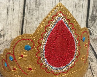 Princess Elena of Avalor Inspired Tiara Crown, Elena Inspired Wand, Elena of  Avalor Inspired Wand for Children Adults