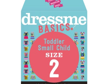 Dressme Basics - Pattern SIZE 2 - 1 Dress and 1 T-shirt - 1000s of possibilities