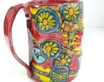 Red Hot morning mug