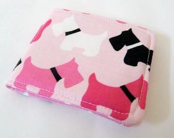 Pink Scottie Dog Needle Case
