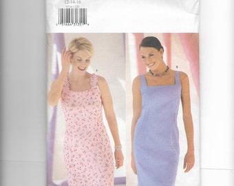 Butterick Misses' /Misses' Petite Dress Pattern 6524