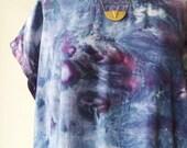 Hand Dyed Tank Dress in Starry Night, Anna Joyce, Portland, OR