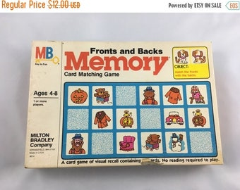40% OFF- Vintage Memory Game-Mixed Media Supply-Game Cards