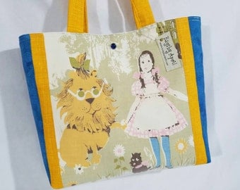 Wizard of Oz purse tote Bags by April Vintage Fabric