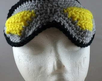 Crocheted Goggles Headband - The Scientist (SWG-HH-GGSCIT03)