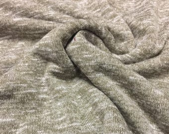 Speckled Jersey knit Fabric 2 -3/4 Yards