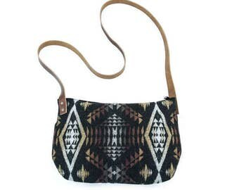 Kari Crossbody Bag—Diamond River pattern
