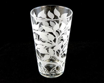 Tree of Life Pint Glass - Etched Glassware - Custom Made to Order