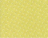Coney Island - Dandelion Wisps in Limesicle Green: sku 20283-17 cotton quilting fabric by Fig Tree and Co. for Moda Fabrics - 1 yard