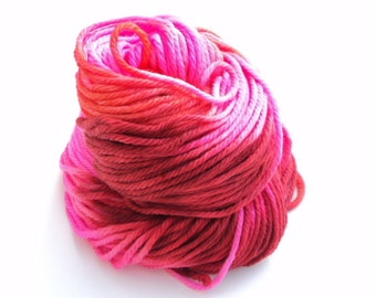 Lovie, Hand Dyed, Hand Painted, Bulky, Yarn