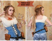 Waist 33-35 Princess Blue Wench Corset