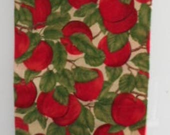MadieBs Red Apples on Tree Limbs Plastic Bag Holder Dispenser